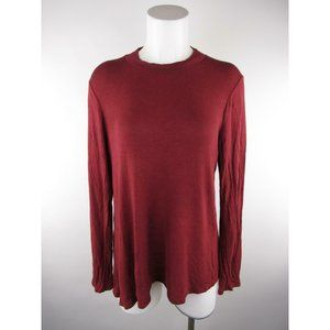 Mossimo Supply Co Solid Rayon Spandex Knit Top
